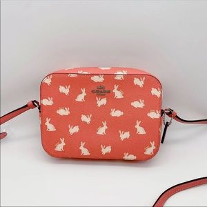 Coach Bunny Mini Camera Bag Crossbody